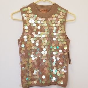 Milano embellished s/l sweater